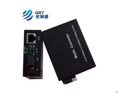 Fast Ethernet 10 100 1000m Fiber To Copper 80km Sc Media Converters