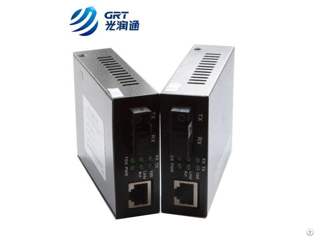 Fast Ethernet 10 100m Single Fiber 10km Sc Optic Media Converter
