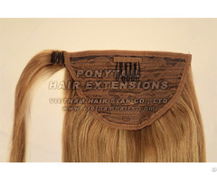 Ponytail Human Remy Hair Extension