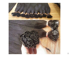 Natural Virgin Remy Invisible Wholesale Prebonded Human Hair Extension