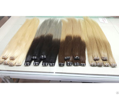 Weft Hair Ombre Color
