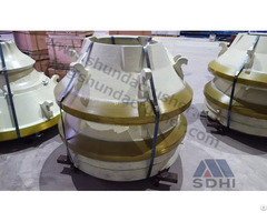 Sandvik H3800 Cone Crusher Standard Mantle Concave Ring Manufacture