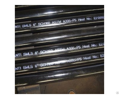 Alloy Steel Seamless Pipe Astm A335 P5
