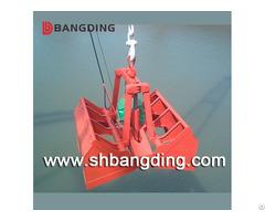 Electric Hydraulic Clamshell Grab Bucket For Ship Bulk Cargo Loading