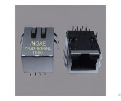 Ingke Ykjd 8099nl 100% Cross Hfj11 2450e L12rl Through Hole Rj45 Magnetic Jack Connectors