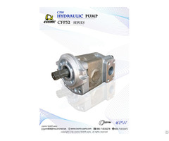 Cosmic Forklift Parts On Sale Cpw Hydraulic Pump Cfp32 Series Catalogue Size