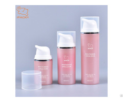 Luxury 15ml 30ml 50ml Plastic Airless Pump Lotion Bottle For Cosmetic Packaging