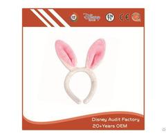 Plush Short Fiber Rabbit Modeling Headband