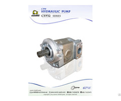 Cosmic Forklift Parts On Sale 326 Cpw Hydraulic Pump Cfp32 Series Catalogue Part No