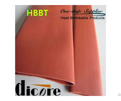 7inch Thick Wall Environmental Grade Pe Heat Shrink Sleeve For 35kv Voltage Copper Busbar