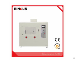 Electric Wire And Cable Horizontal Vertical Combustion Tester