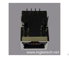 Ingke Ykjd 8005nl 100% Cross Hr911105a Through Hole Rj45 Magnetic Jack Connectors
