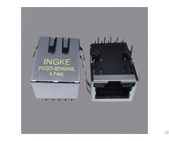 Ingke Ykgd 8049anl 100% Cross Jkm 0001nl Single Port Rj45 Magnetic Jack