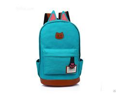 Hot Cute Rabbit Style Baby Bag School Satchel Casual Backpack