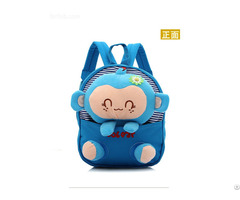 Hot Selling Kids Soft Cartoon Baby Backpack Animal Image School Bag