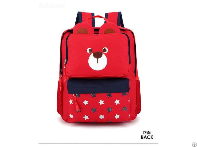 3d Cute Animal Design Backpack Kids School Bags For Girls Boys Cartoon Shaped Children Backpacks