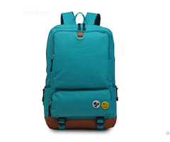 Fashion Nylon Women Foldable Backpack College Middle High School Bag For Teenager Girl Lady