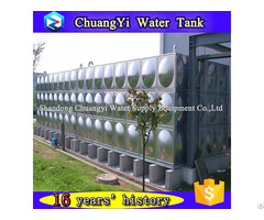 Factory Best Price Stainless Steel 304 316 Bolted Water Tank
