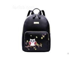 Mini Custom Designer Women Pu Leather Fashion Backpack Bag