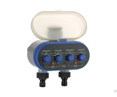 Dual Outlet Electronic Water Timer Ball Valve