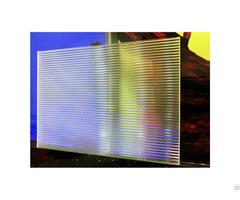 Clear Linear Textured Acrylic Sheet