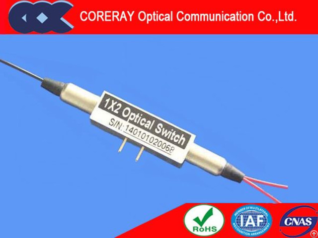 Mini 1x2 Fiber Optical Switch For Military Communication