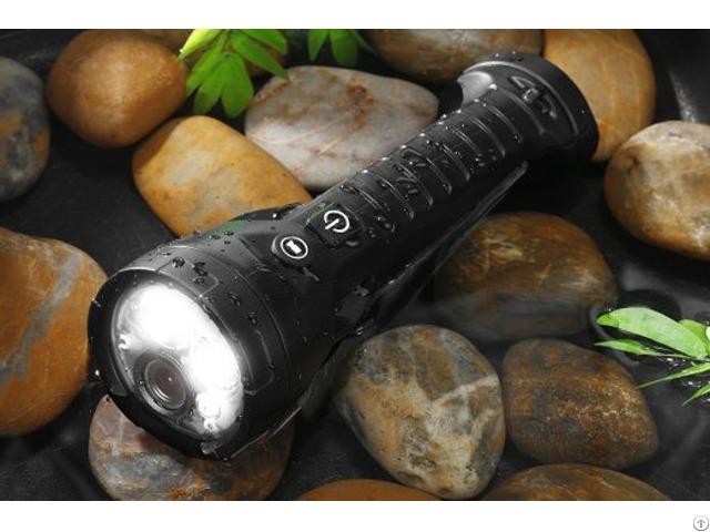 Ex Flashlight With Hd Camera