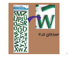Tgm Alaphabet Glitter Stickers