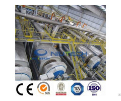Industrial Continuous Waste Plastic Pyrolysis Production Line