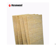 Heat Preservation 150kg M3 Rock Wool Board For Building Exterior Insulation