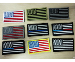 Customized Embroidery Usa National Flag Patch