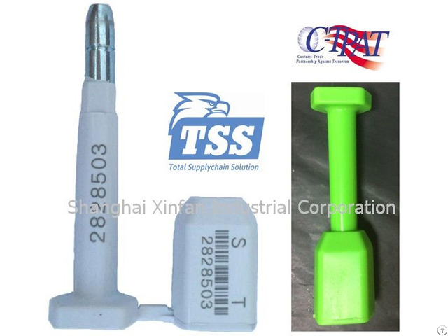 C Tpat Iso17712 Security Bolt Container Seal Model No New Tss Bs02