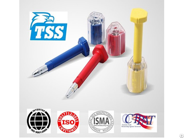 High Security Iso 17712 Bolt Container Seal Lock Model No Tss Bst01