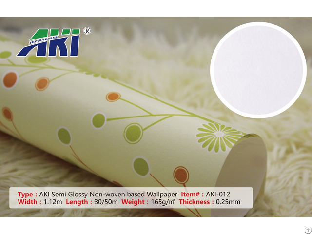 Blank Pure Paper Eco Solven Inkjet Printable Wallpaper