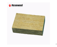 Water And Moisture Resistant Roof Rockwool Insulation Board With Aluminum Foil