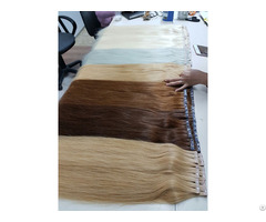 Wholesale Machine Weft Human Remy Hair