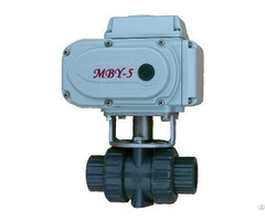 Upvc Electric Ball Valve