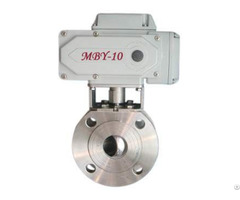 Ultra Short Dimension Electric Ball Valve
