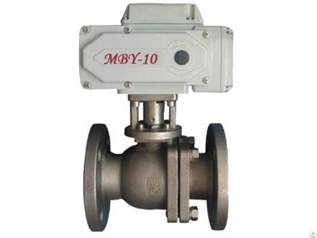 Stainless Steel Flange Electric Ball Valve