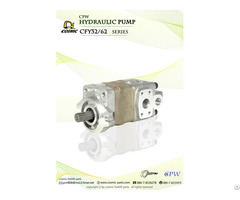 Cosmic Forklift Parts On Sale 327 Cpw Hydraulic Pump Cfy32 And 62 Series Catalogue Size