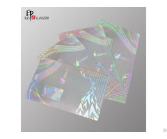 Custom Logo Lamination Holographic Pouch For Concert Ticket