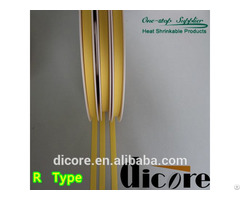 R Type Heat Shrink Wire Marking Flexible Sleeve With 3 1 Shrinking Ratio