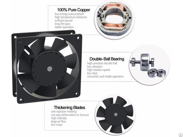 Sell Ventilator Axial Fan 4inch 120x120x38mm