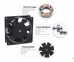 Sell Ventilator Axial Fan 4inch 120x120x38mm