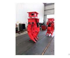 Excavator Five Fingers Stone Grapple Made In China