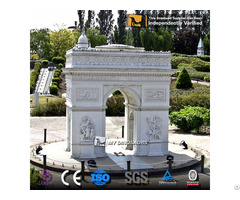 Miniature Park Sculptures Fiberglass And Resin Sculpture Arc De Triomphe