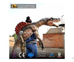Customization Kid Birthday Gift Small Size Kids Shoulder Puppet Spinosaurus