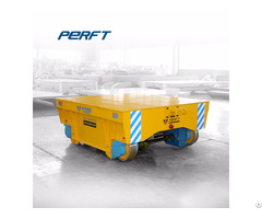 Industrial Use Remote Control Motorized 5t Battery Powered Rail Transfer Cart