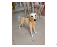 Fiberglass Display Animal Pet Dog Mannequin