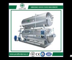 Water Immersion Steam Rotary Retort Sterilizer